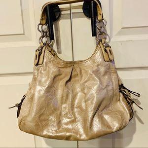 {COACH} Maggie Madison Shimmering Shoulder Bag
